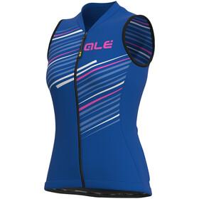 Alé Cycling Solid Flash SL Jersey Women, blauw